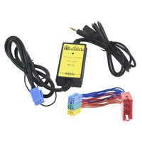 Carro aux usb sd mini 8 p conectar cd changer para seat ahambra ibiza arosa para vw sharan polo cd adaptador mp3 interface de áudio