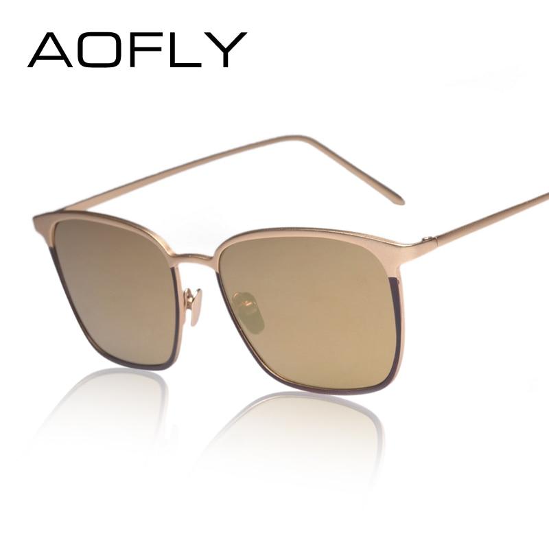 AOFLY Fashion Womens Sunglasses Double color Frame ...