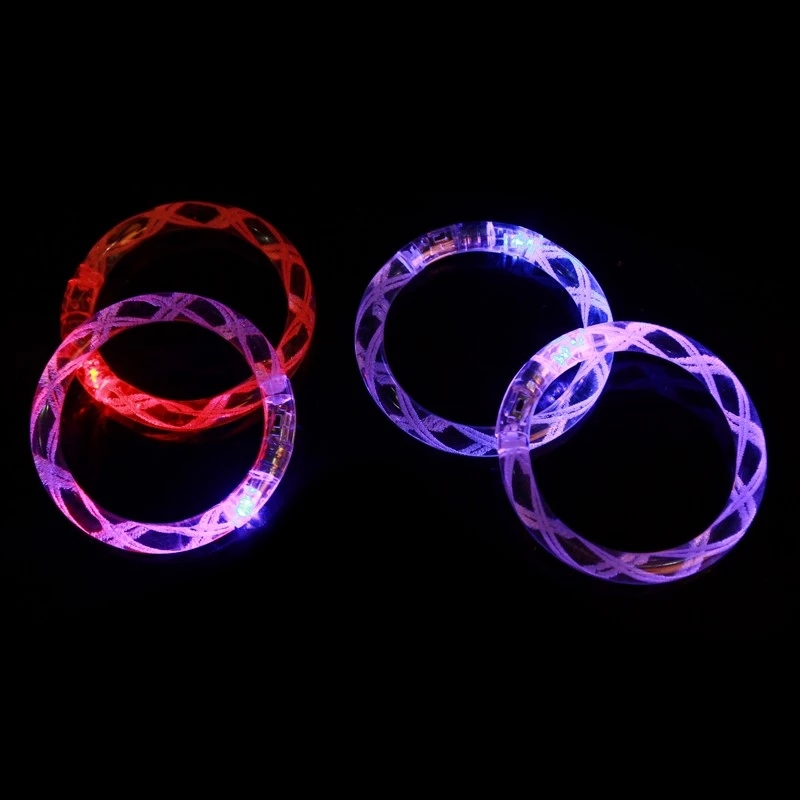 Free shipping Hot Sale 2015 New Light up Toys Waterproof LED Flashing Bracelet For Party ...