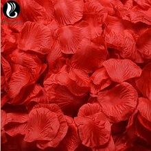 Платье с лепестками роз на свадьбу цветные Искусственные цветы 40 Цвета Свадебные 100 шт./упак. 5*5 см искусственные цветы De Rosa De Boda; BV267