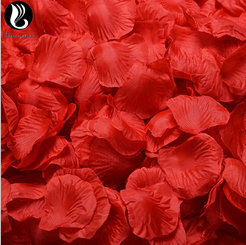 Rose Petals For Wedding Colorful Artificial Flower 40 Colors Wedding 100Pcs/Pack 5*5cm Artificial Flowers De Rosa De Boda BV267