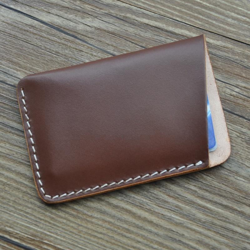 leather handmade card holder 2016 new original hand made