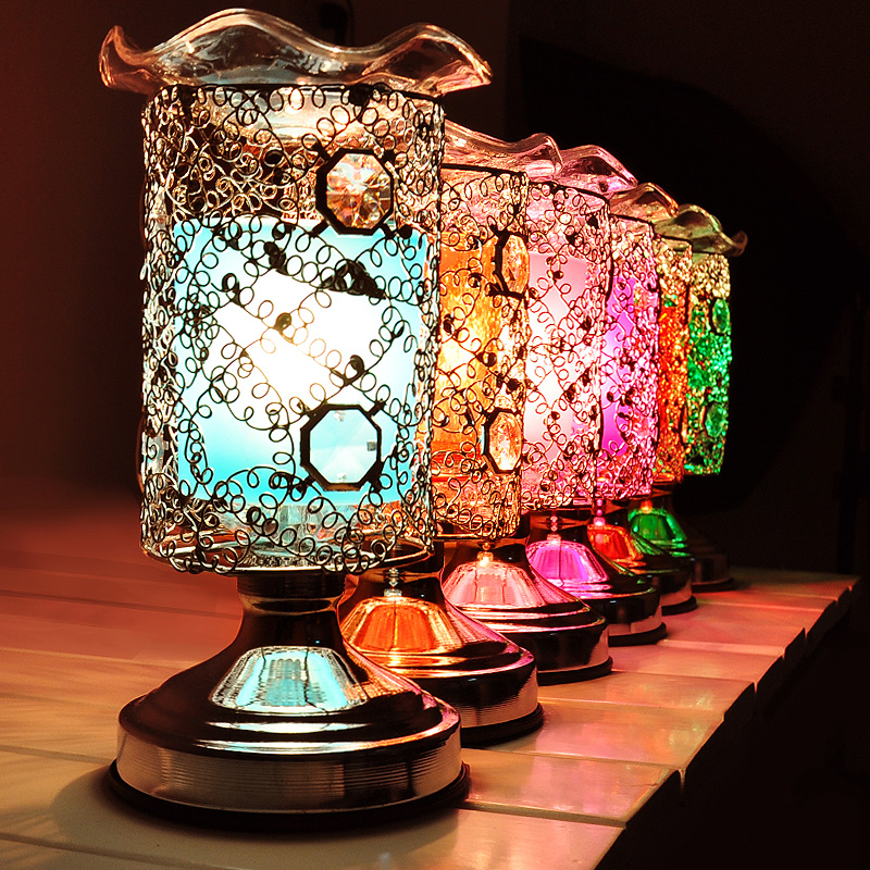 Modern Electric Fragrance Diffuser Lamp Iron Essential Oil