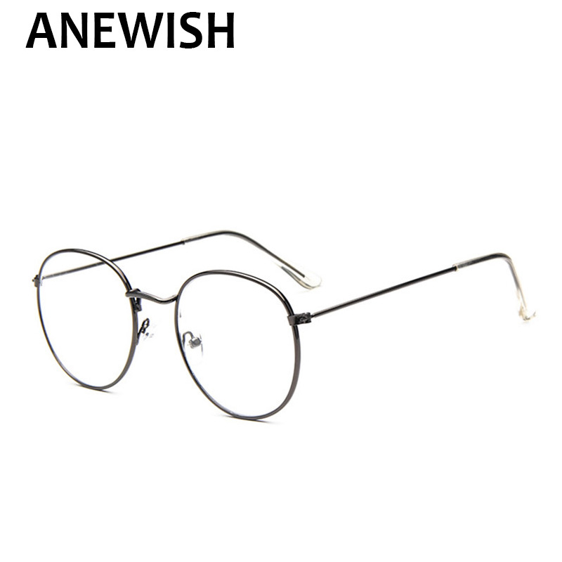 2018 New Hot Personality Vintage Metal Trend Round eyewear Frame For ...