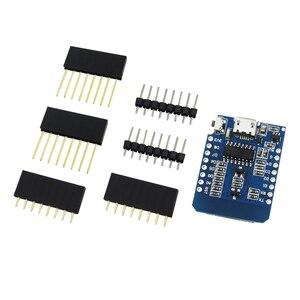 Image 2 - 10 세트 d1 미니 미니 nodemcu 4 m 바이트 문 esp8266 wemos에 대한 개발 보드를 기반으로 사물의 와이파이 인터넷