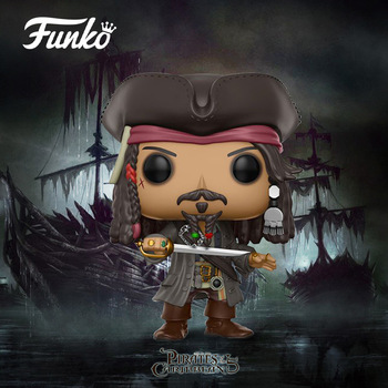 POP Pirates of the Caribbean JACK SPARROW Action Figure toys birthday Gift