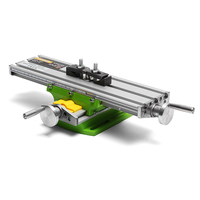Multifunction Worktable XY 2 Axis Cross Slide Mini Precision Milling Machine Bench Drill Vise 6330 Fixture