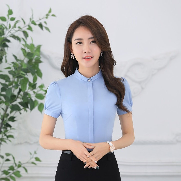 Aliexpress.com : Buy New 2017 Summer Fashion Ladies Light blue ...