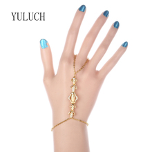 YULUCH Women New Fashion All-match Gold Color Elegant Jewelry Bracelet Valentine's Day Gifts Party Accessories