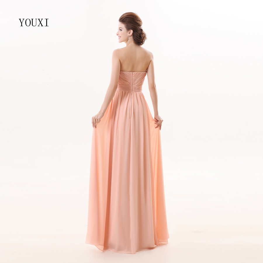 Aliexpress buy pink chiffon bridesmaid dresses 2017 new aliexpress buy pink chiffon bridesmaid dresses 2017 new fashion a line formal prom party gowns from reliable pink chiffon bridesmaid dresses suppliers ombrellifo Image collections