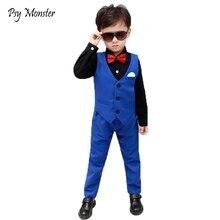 Короткие костюмы бордового цвета для мальчиков, комплект с жилетом, приталенный костюм для подносителя колец для мальчиков, Официальный Классический костюм, подарок на свадьбу, день рождения, вечеринку, F158