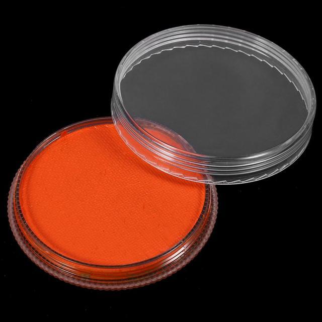 12 couleurs peinture pour le corps cosmétiques professionnels à base deau mat peinture pour le corps Pigment scène visage couleur maquillage Halloween outil de fête