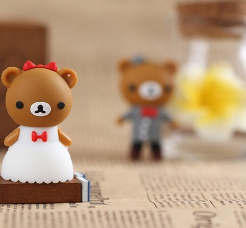dress Wedding Bear Teddy Bear 2GB 4GB 8GB 16GB 32GB USB Flash Drive/U Disk/usb flash dri ...