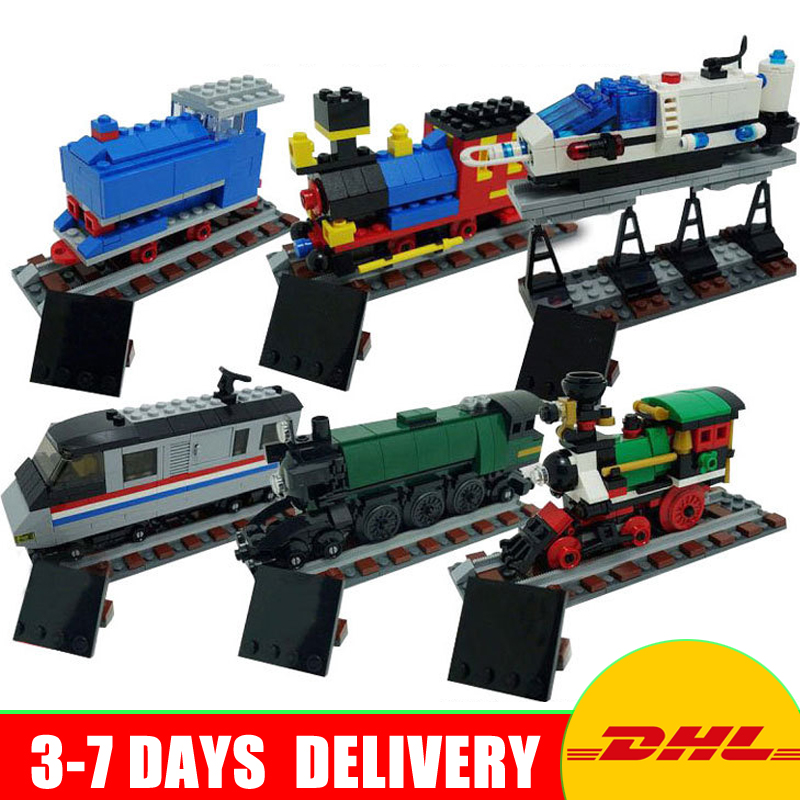 Lepin 21029 Genuine Technic Series The 50 Years on Track Set children Educational Building Blocks Bricks Toys Compatible 4002016 compatible city lepin 02005 889pcs the volcano exploration base 02005 building blocks policeman educational toys for children