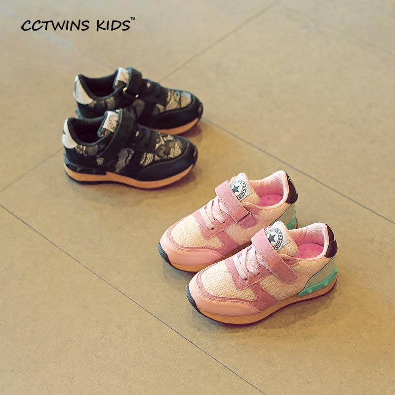 CCTWINS-KIDS-2017-spring-baby-boy-lace-flat-trainer-children-fashion-black-breathable-shoe-girl-brand-casual-sneaker-stud-F1215-5