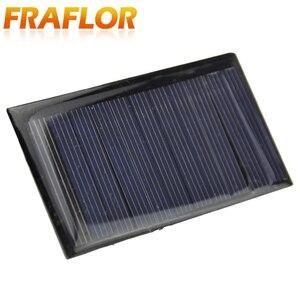 Image 3 - Fraflor Panel Solar portátil para cargador de batería, 10 Uds., 0,42 W, 5,5 V, 80x45x3mm, envío gratis, fuente de alimentación de emergencia de células solares