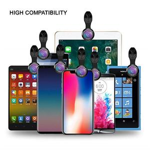 Image 5 - APEXEL Phone Camera Lens 10 in 1 Kit Wide Fisheye Telephoto Macro Lens With Remote Shutter for iPhone Samsung Most Smartphones