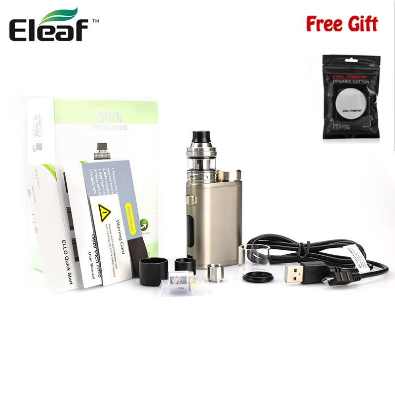 Original Eleaf iStick Pico 21700 Kit 100W iSitck Pico 21700 Mod 21700 Battery Vape With 2ml 4ml Ello Atomizer HW1-C HW2 Core