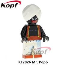 KF2026 Super-heróis Sr Popo Android 16 Goku Ssj4 Dr. breve De Dragon Ball Z Figuras Building Blocks Aprendizagem Brinquedos Para Crianças presente
