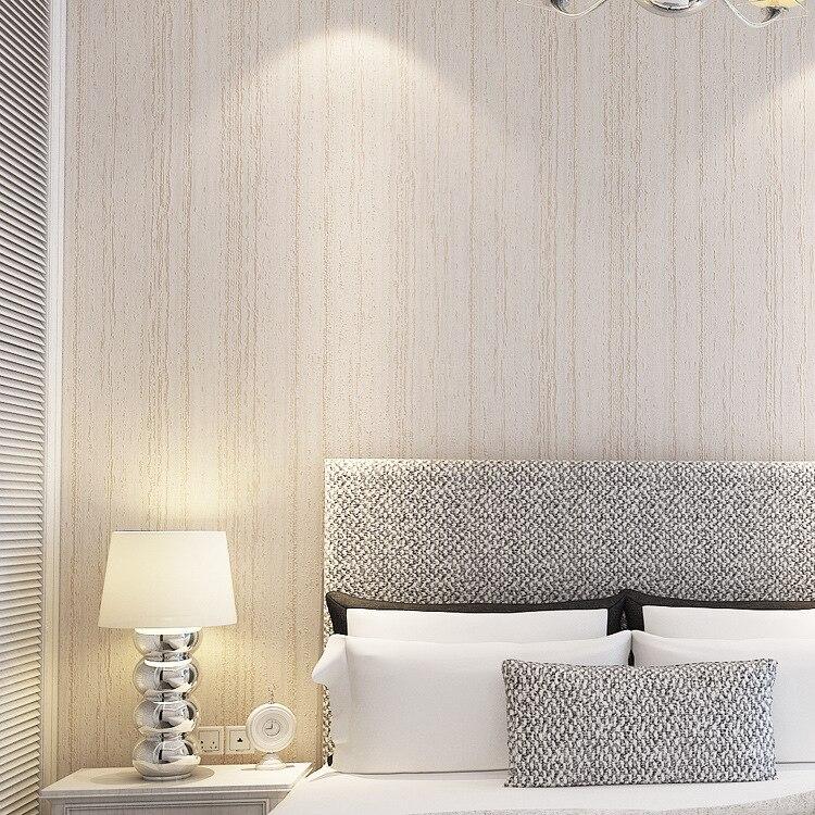 AliExpress Plain Woven Wallpaper Retro Minimalist Solid Wood Bedroom Living Room TV Backdrop Paved