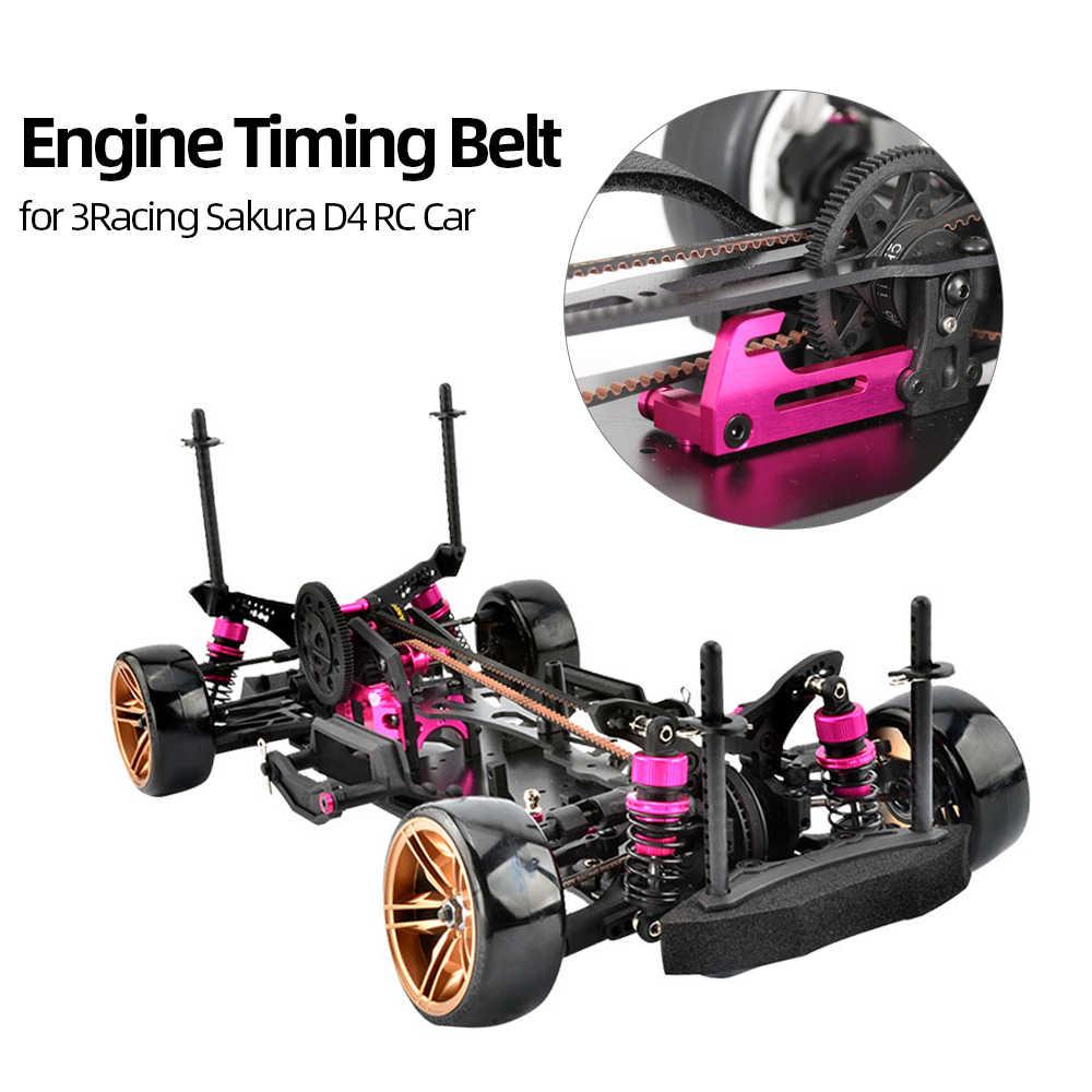 Piezas de Repuesto RC correa de distribución de motor de goma S3M 540 RC cinturón sincrónico para 3 carreras Sakura D4 RC Coche