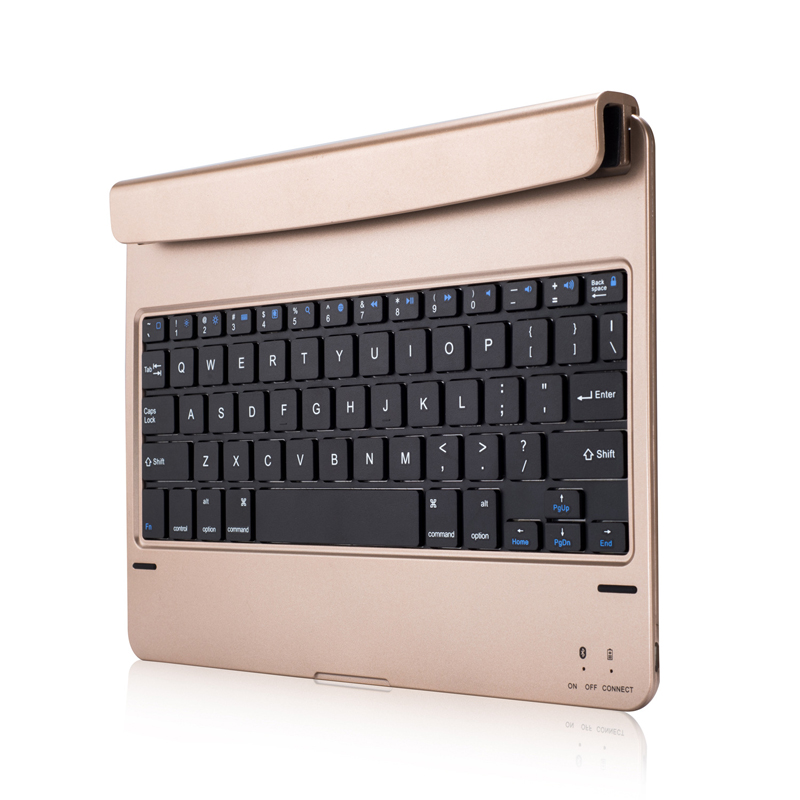 7 iPad Keyboard  Gold