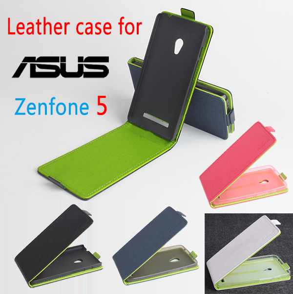 For ASUS Zenfone 5 Case Hit Color PU Leather Phone Bag For ASUS Zenfone 5 Protect Skin Flip Vertical Cover Cases