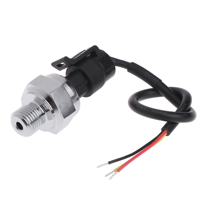 5V G1/4 1.2 MPa 150PSI Pressure Transmitter Water Gas Oil Fuel Pressure Sensor #0616 pressure sensor transmitter dc g1 4 0 0 5mpa 0 0 8mpa 0 1mpa 0 1 2mpa 0 2 5mpa 0 5mpa 0 10mpa for water oil gas
