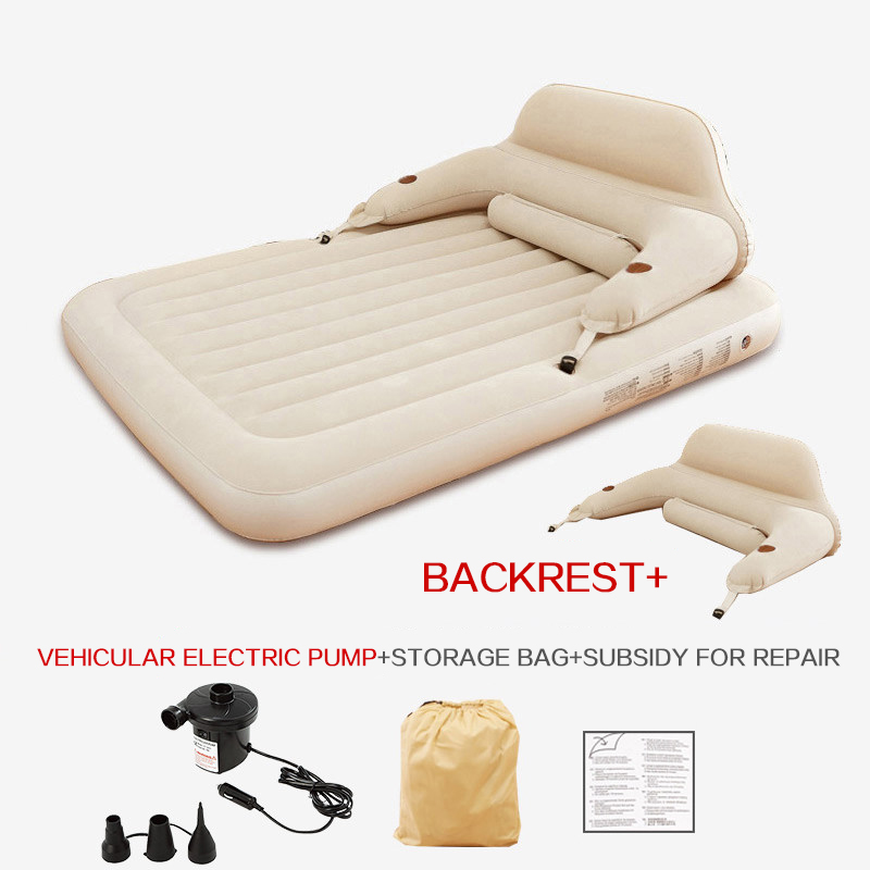 Купить с кэшбэком Inflatable mattress air cushion bed, double person thickening steam cleaning simple portable outdoor lunch break sex coitus bed