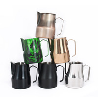 500ml 7Color Stainless Steel Espresso Coffee Pitcher Barista Kitchen Craft Scale Coffee Latte Milk Frothing Jug