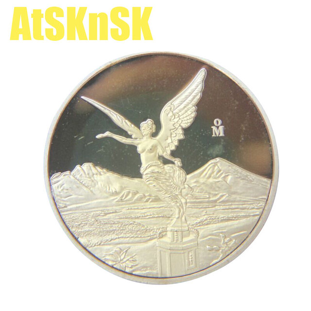 Atsknsk 1 Stück Kupfer überzogene Münzen Der Republik Kuba Libertad