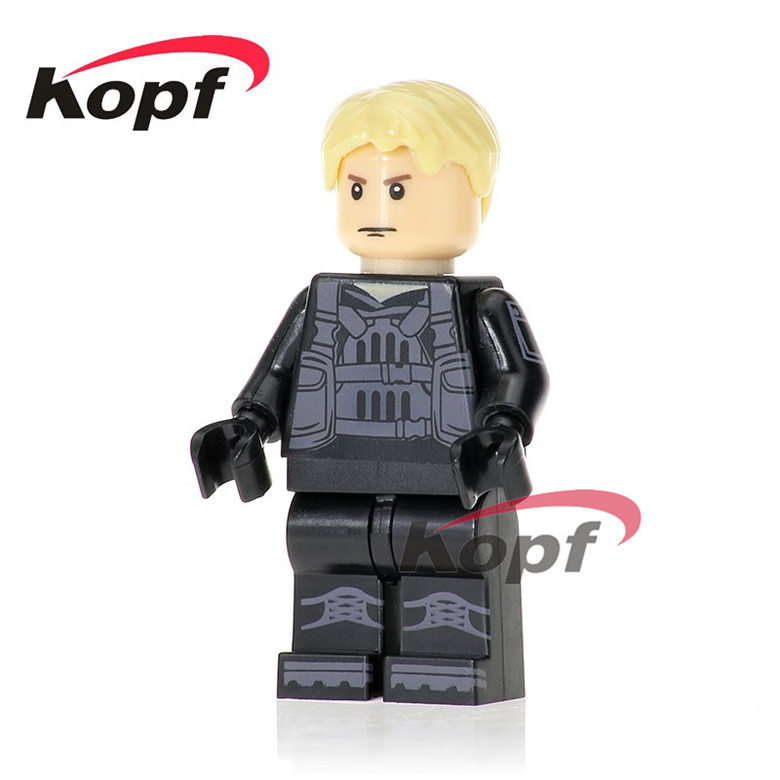 20Pcs Building Blocks Super Heroes Kill Bill Vol.1 Uma Thurman The Bride Peeta Action Model Bricks Best Children Gift Toys KL073