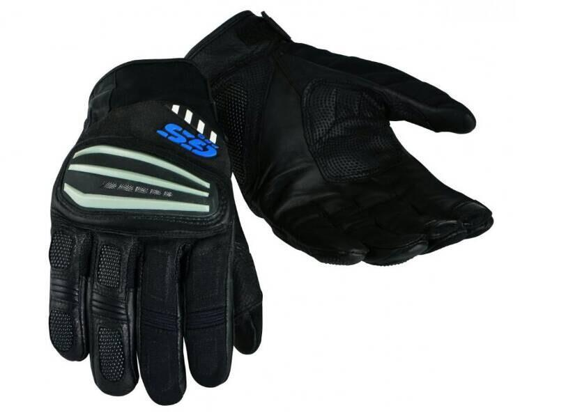 Motorrad Rally Black Grey Leather Gloves FOR BMW GS1200 PRO GS Cycling Gloves