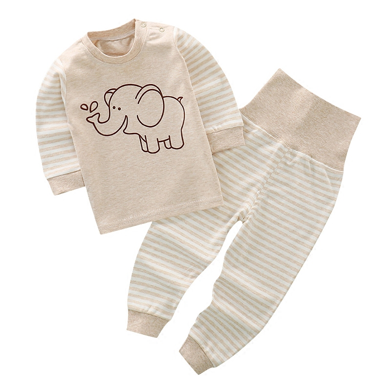 os recem nascidos do bebe pijamas set crianca 01