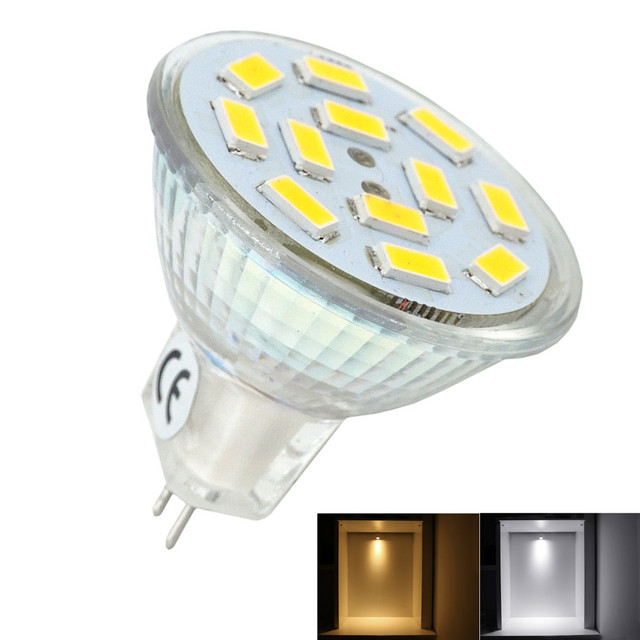 2W LED MR11 Light Bulb 10-30V GU4/G4 Bi-pin Base LED  sc 1 st  AliExpress.com & 2W LED MR11 Light Bulb 10 30V GU4/G4 Bi pin Base LED Spotlight 20W ...