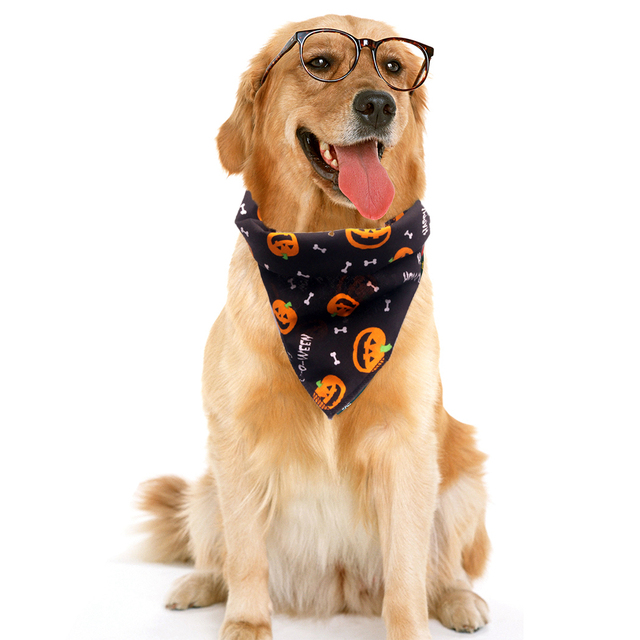 Halloween Pet Dog Accessories Dogs Bibs Cat Bowtie Dog Bandana Pet Accessories for Dogs Scarf Mascotas Perros Accesorios 4