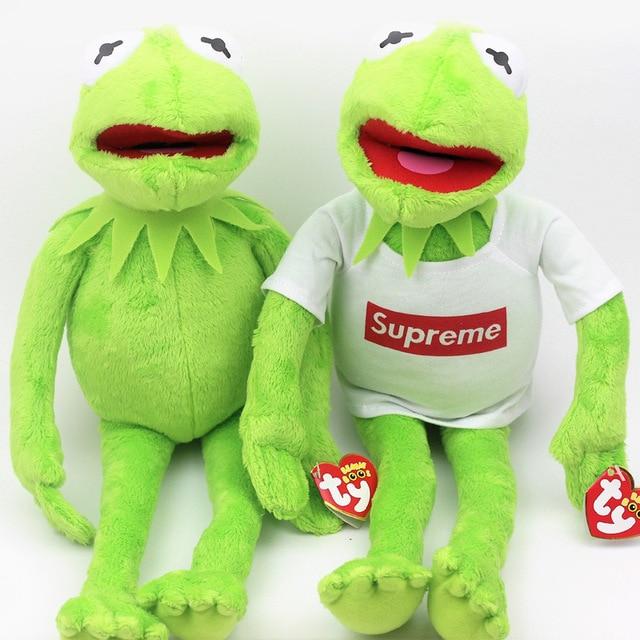 Hot 1pcs 18cm 40cm Kermit The Frog Plush Soft Toy The Muppets Show Film  Teddy 79fd8e85941