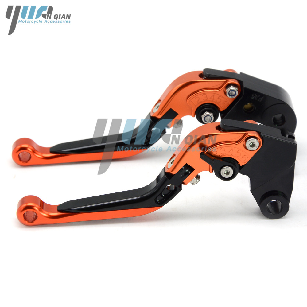 Image 5 - Motorbike CNC Aluminum Folding Extendable Brake Clutch Lever For KTM 390 Duke RC390 2013 2016 2017 200 Duke/RC200 2014 2015-in Levers, Ropes & Cables from Automobiles & Motorcycles