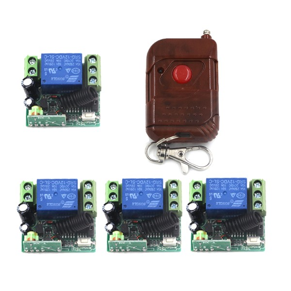 New DC 12V 10A Relay RF Remote Control Switch Wireless Remote Plug 315Mhz / 433Mhz SKU: 5188 new control relay cad series cad32 cad32sdc cad 32sdc 72v dc