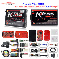 100% No Tokens KESS V2 V5.017 V2.47 2.47 Master Version ECU Chip Tuning KESS 2 5.017 Used Online For Car Truck DHL Free