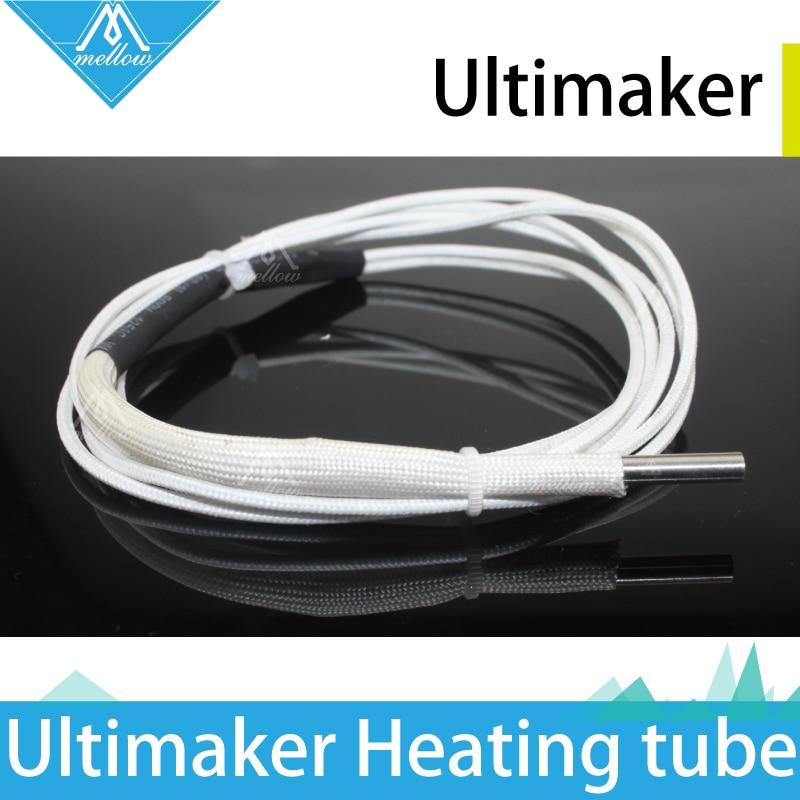 3D Printer Extruder M4*15.8mm Original UM2 Ultimaker 2 24V 25W/35W/40W Cartridge Heater For Reprap Ultimaker2 olsson block kit