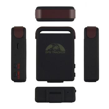 Conban Original Mini GSM GPRS GPS rastreador GPS102B TK102B para persona vehículo localizador de coche movimiento de dispositivo alerta SOS