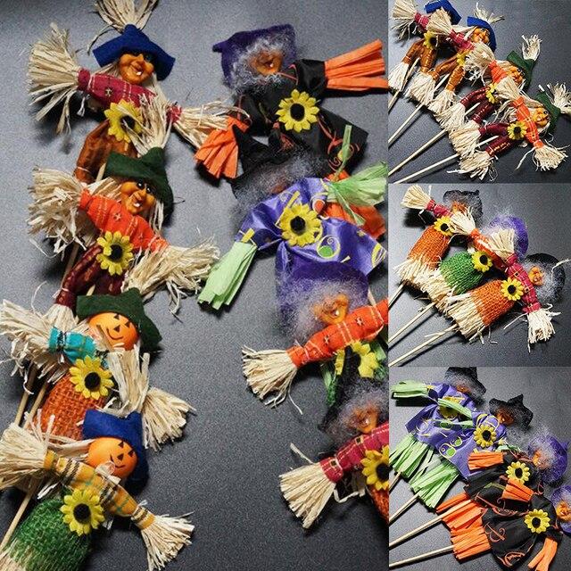Super Halloween Spaventapasseri Strega Plugin Ornamenti Decorazione  NI96