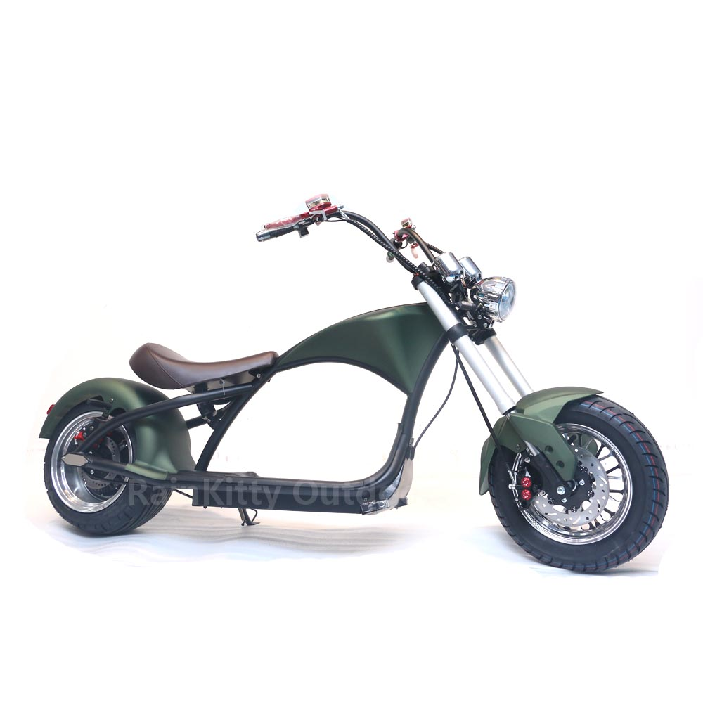 Scooter électrique cee 2019 CITYCOCO gros pneu en option