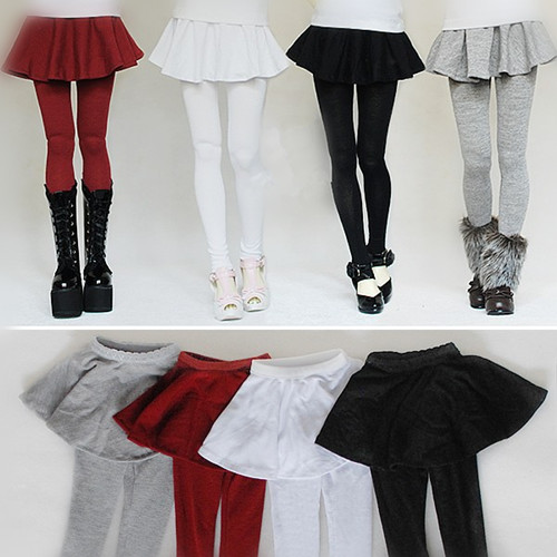 Fashion Girl Legging Skirt for BJD Doll 1/6 YOSD 1/4,1/3,SD10/13,SD16  Doll Clothes Customized CWB2 unisex irregular long t shirt for bjd doll 1 6 yosd 1 4 msd 1 3 sd10 sd13 sd16 sd17 uncle luts dod as dz sd doll clothes cwb7