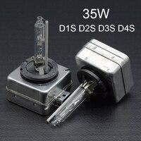 35W HID Xenon Bulb D1S D2S D3S D4S Auto Car Headlight Replacement Kit 12V 4300K 5000K