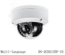 Multi-language DS-2CD2135F-IS Заменить DS-2CD2132F-IS 3-МЕГАПИКСЕЛЬНОЙ IP CCTV Камера H.265 Поддержка PoE Видеонаблюдения Камеры Безопасности