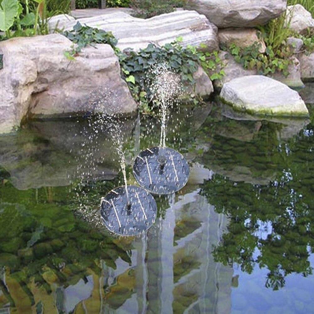 Solar Wasserpumpe Macht Waterpomp Panel Brunnen Pool Gartenteich Tauch Bewässerung Pool Automatische für Brunnen Wasserfälle