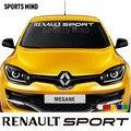 Автомобильные наклейки на лобовое стекло, автомобильный Стайлинг для Renault Duster, Megane, RS, Logan, Laguna, Clio, Captur, Sandero, аксессуары