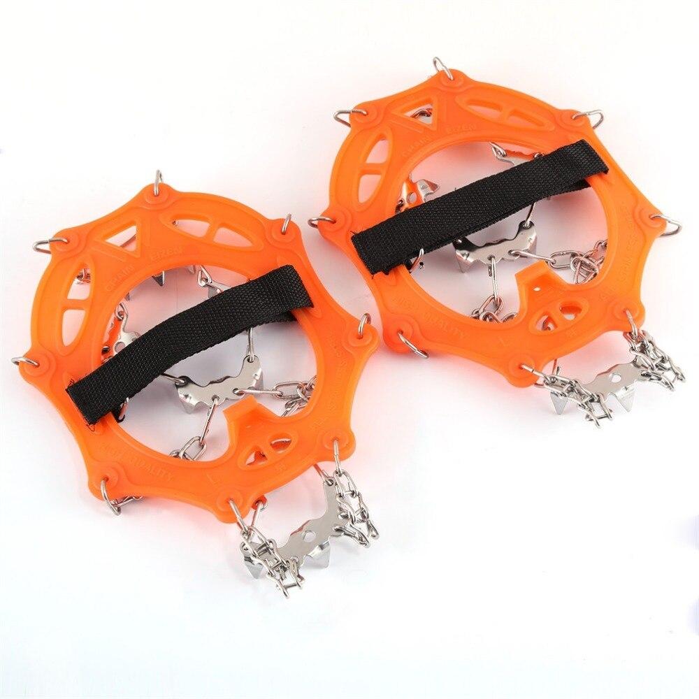 19 Tänder 19T Skridskor Klättring Mini Spikes Skor Ice Traction - Sko tillbehör